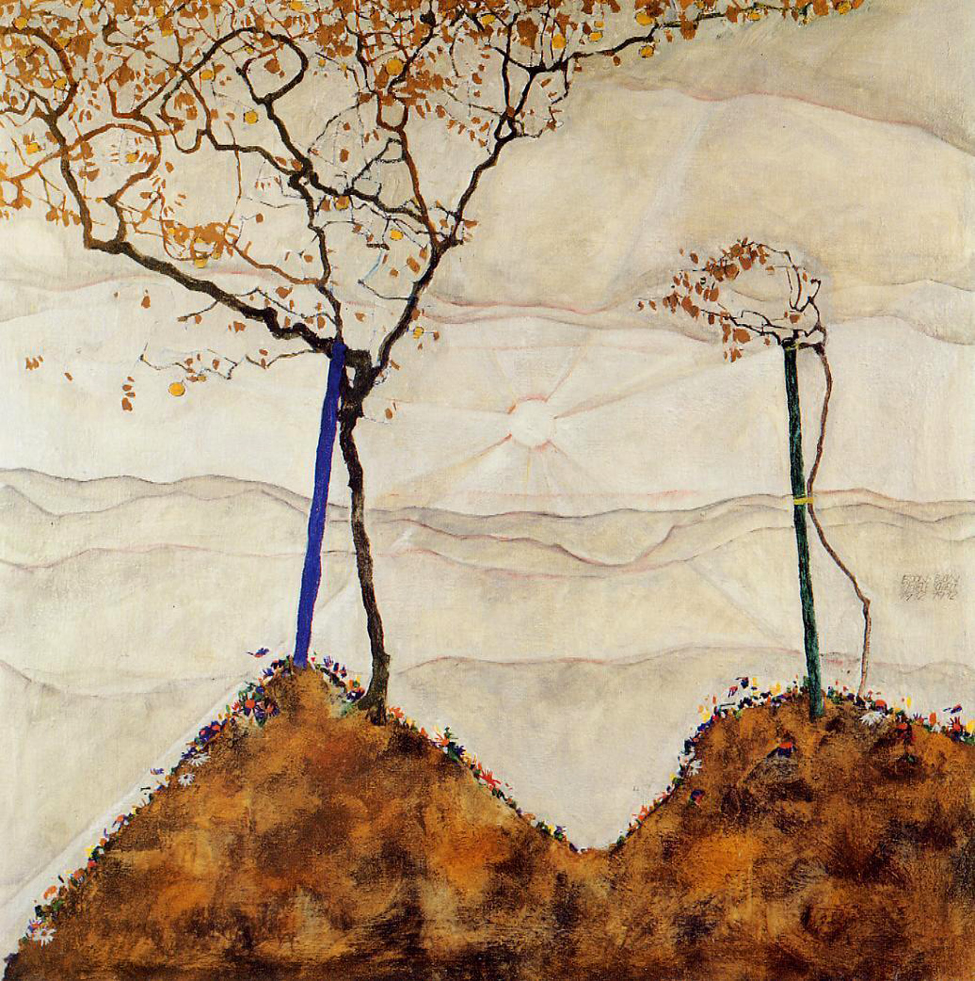 Image result for expressionism autumn wind